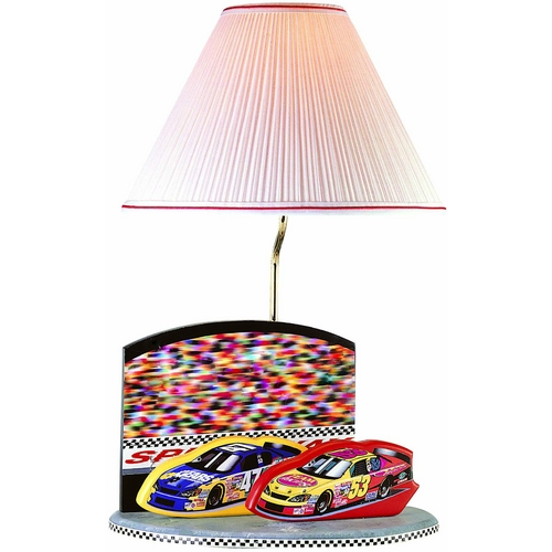 Lite Source Lighting Lite Source Lighting Nascar Lamp Grey Accent Lamp 3NC50107