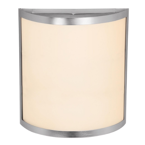 Access Lighting Access Lighting Artemis Brushed Steel Sconce C20439BSOPLEN1218BS