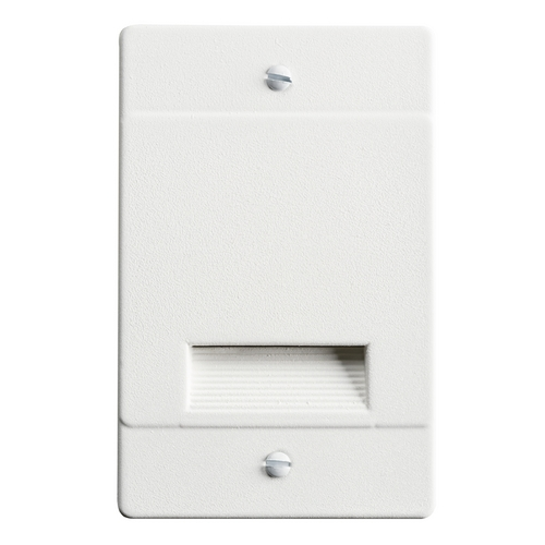 Kichler Lighting Kichler Lighting Step and Hall Light White LED Recessed Step Light 12668WH