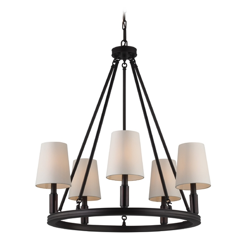 Feiss Lighting Feiss Lighting Lismore Oil Rubbed Bronze Chandelier F2922/5ORB