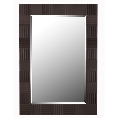 Kenroy Home Lighting Flutes 28-Inch Mirror 61010