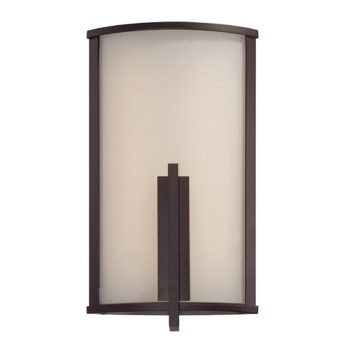 Modern Forms by WAC Lighting Modern Forms Spire Bronze LED Outdoor Wall Light WS-W2712-BZ