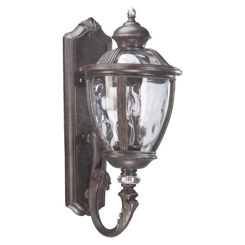 Quorum Lighting Quorum Lighting Sloane Baltic Granite Outdoor Wall Light 7220-3-45