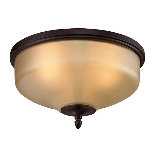 Cornerstone Lighting Cornerstone Lighting Jackson Oil Rubbed Bronze Flushmount Light 1303FM/10