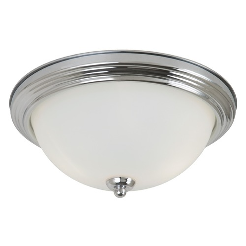 Sea Gull Lighting Sea Gull Lighting Ceiling Flush Mount Chrome LED Flushmount Light 7716591S-05