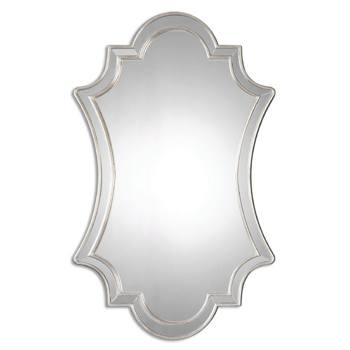 Uttermost Lighting Uttermost Elara Antiqued Silver Wall Mirror 08134