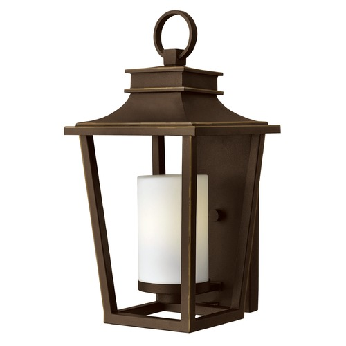 Hinkley Lighting Hinkley Lighting Sullivan Oil Rubbed Bronze Outdoor Wall Light 1744OZ-GU24