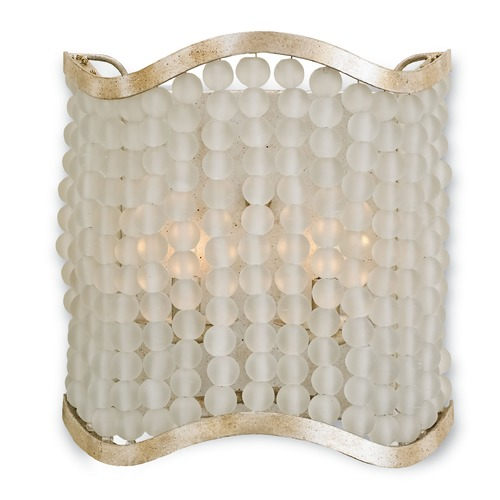 Currey and Company Lighting Currey and Company Chanson Silver Granello Sconce 5206