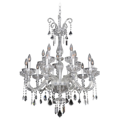 Allegri Lighting Clovio 15 Light Crystal Chandelier 026053-010-FR001