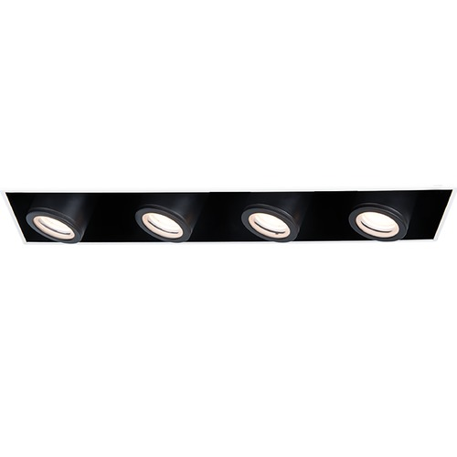 WAC Lighting Wac Lighting Silo Multiples White / Black LED Recessed Kit MT-4410L-940-WTBK