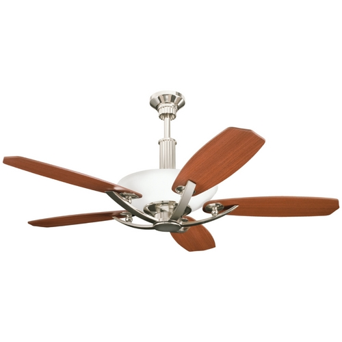 Kichler Lighting Kichler Ceiling Fan with Light Kit in Polished Nickel Finish 300126PN