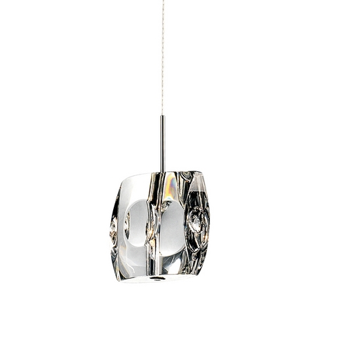 ET2 Lighting Modern Low Voltage Mini-Pendant Light with Clear Glass E30507-20