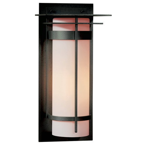 Hubbardton Forge Lighting Outdoor Wall Light - 20-3/10-Inches Tall 305994-SKT-20-GG0037