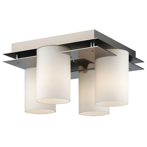 Philips Lighting Four-Light Flushmount Ceiling Light F160316