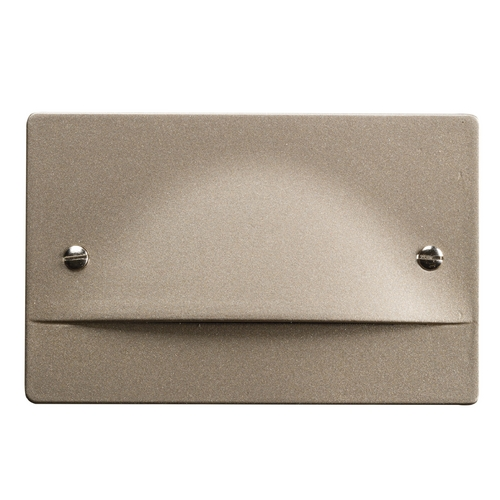 Kichler Lighting Kichler Lighting Step and Hall Light Brushed Nickel LED Recessed Step Light 12662NI