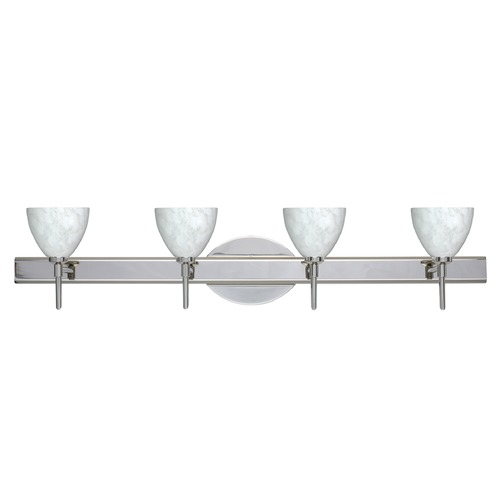 Besa Lighting Besa Lighting Divi Chrome Bathroom Light 4SW-185819-CR