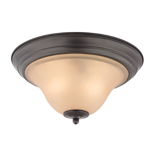 Cornerstone Lighting Cornerstone Lighting Kingston Oil Rubbed Bronze Flushmount Light 1402FM/10