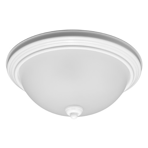 Sea Gull Lighting Sea Gull Lighting Ceiling Flush Mount White LED Flushmount Light 7716591S-15