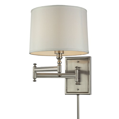 Elk Lighting Elk Lighting Swingarm Brushed Nickel Swing Arm Lamp 31530/1
