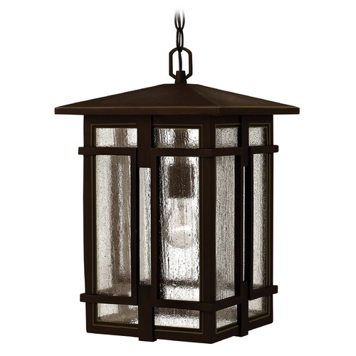 Hinkley Lighting Hinkley Lighting Tucker Oil Rubbed Bronze LED Outdoor Hanging Light 1962OZ-LED