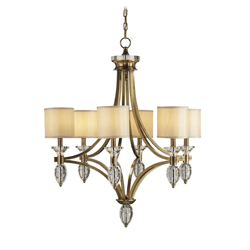 Currey and Company Lighting Chandeliers in Coffee Bronze/clear Crystal Finish 9081