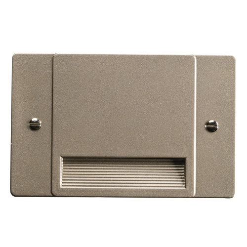 Kichler Lighting Kichler Lighting Step and Hall Light Brushed Nickel LED Recessed Step Light 12663NI