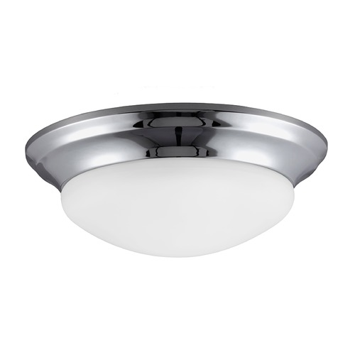 Sea Gull Lighting Sea Gull Lighting Nash Chrome Flushmount Light 79436BLE-05