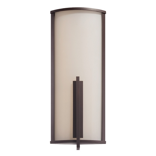 Modern Forms by WAC Lighting Modern Forms Spire Bronze LED Outdoor Wall Light WS-W2717-BZ
