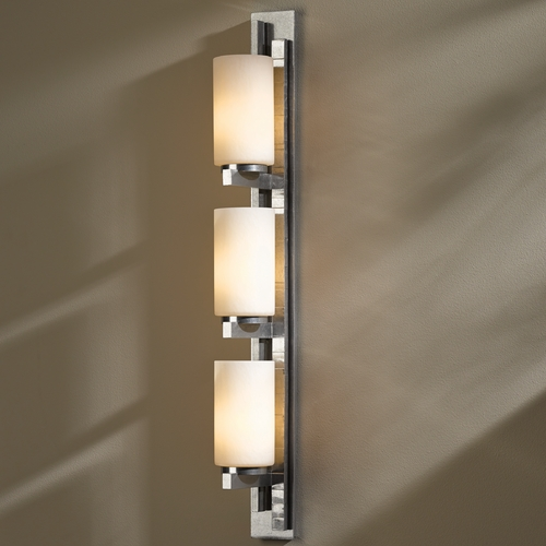 Hubbardton Forge Lighting Ondrian Vintage Platinum Bathroom Light - Vertical Mounting Only 206315L-82-ZX168