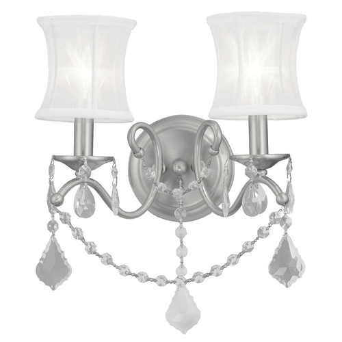 Livex Lighting Livex Lighting Newcastle Brushed Nickel Sconce 6302-91