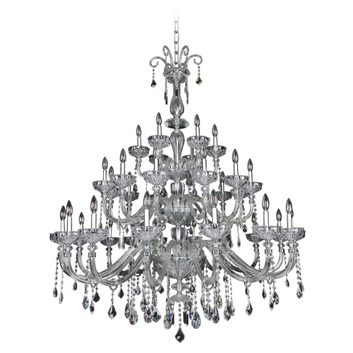 Allegri Lighting Clovio 34 Light Crystal Chandelier 026055-010-FR001