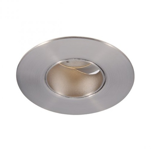 WAC Lighting WAC Lighting Round Brushed Nickel 2-Inch LED Recessed Trim 2700K 610LM 40 Degree HR2LEDT309PF927BN