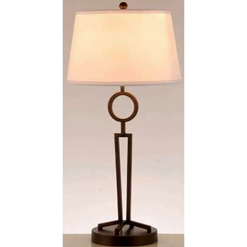 Lite Source Lighting Lite Source Tiona Dark Bronze Table Lamp with Empire Shade LS-22688