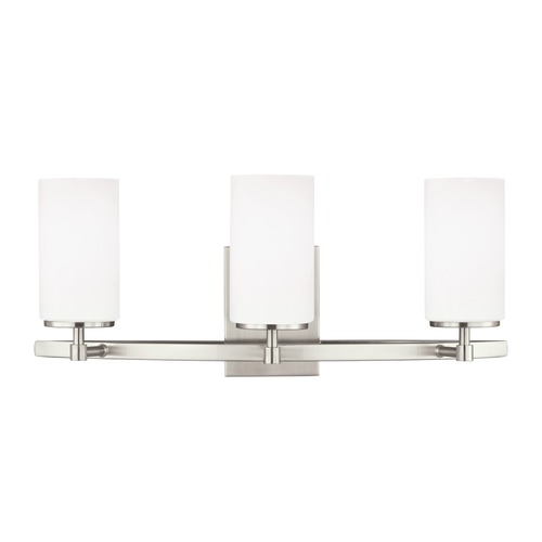 Sea Gull Lighting Sea Gull Lighting Alturas Brushed Nickel LED Bathroom Light 4424603EN3-962