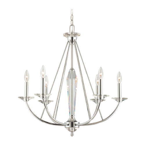 Designers Fountain Lighting Chandelier in Chrome Finish 84286-CH