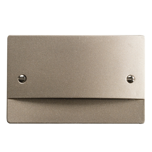 Kichler Lighting Kichler Lighting Step and Hall Light Brushed Nickel LED Recessed Step Light 12664NI