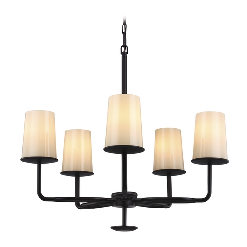 Feiss Lighting Feiss Lighting Huntley Oil Rubbed Bronze Chandelier F2924/5ORB