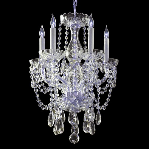Crystorama Lighting Crystorama Lighting Traditional Crystal Polished Chrome Chandelier 1129-CH-CL-SAQ