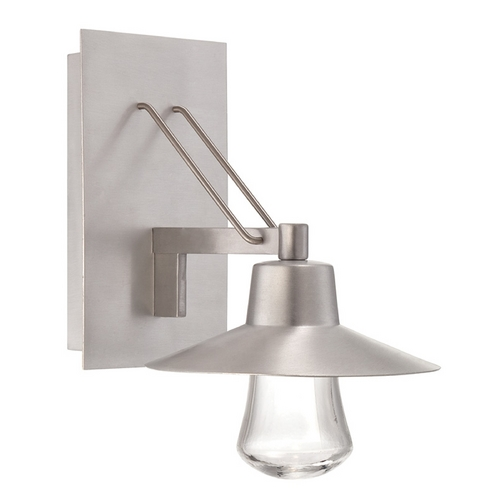 Modern Forms by WAC Lighting Modern Forms Suspense Brushed Aluminum LED Outdoor Wall Light WS-W1911-AL