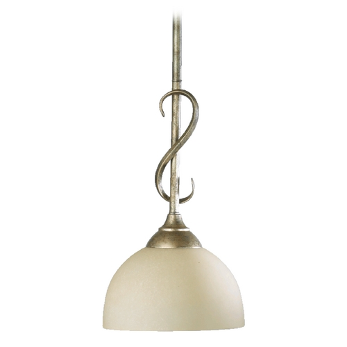 Quorum Lighting Quorum Lighting Powell Mystic Silver Mini-Pendant Light 3008-58