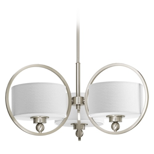 Progress Lighting Progress Lighting Harmony Brushed Nickel Chandelier P4491-09