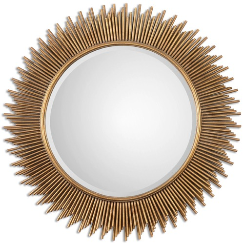 Uttermost Lighting Uttermost Marlo Round Gold Mirror 08137