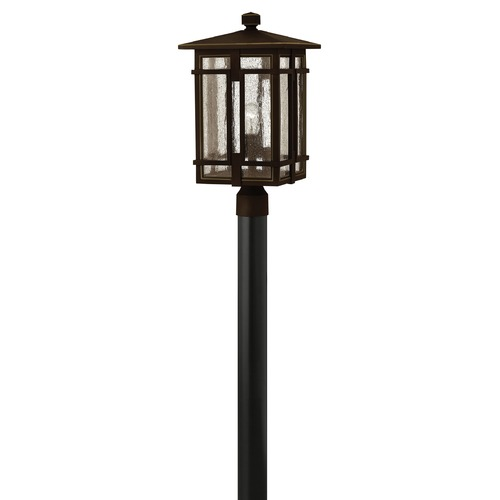 Hinkley Lighting Hinkley Lighting Tucker Oil Rubbed Bronze Post Light 1961OZ