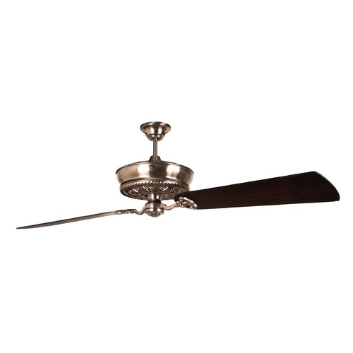 Craftmade Lighting Craftmade Lighting Monroe Tarnished Silver Ceiling Fan Without Light K11236