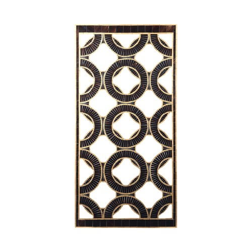 Sterling Lighting Art Deco Wall Art Bronze Qara by Sterling Lighting 7159-081