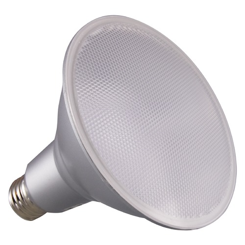 Satco Lighting Satco 15 Watt PAR38 LED 3500K 1200 Lumens 40 deg. Beam Medium Base 120 Volt Dimmable S29447