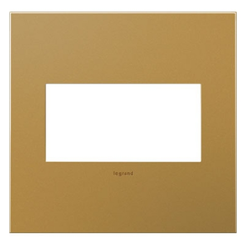 Legrand Adorne Legrand Adorne Satin Bronze 2-Gang Switch Plate AWC2GSB4