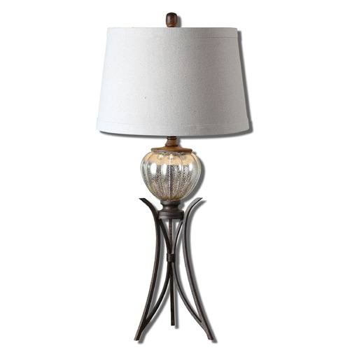 Uttermost Lighting Uttermost Cebrario Mercury Glass Table Lamp 26598