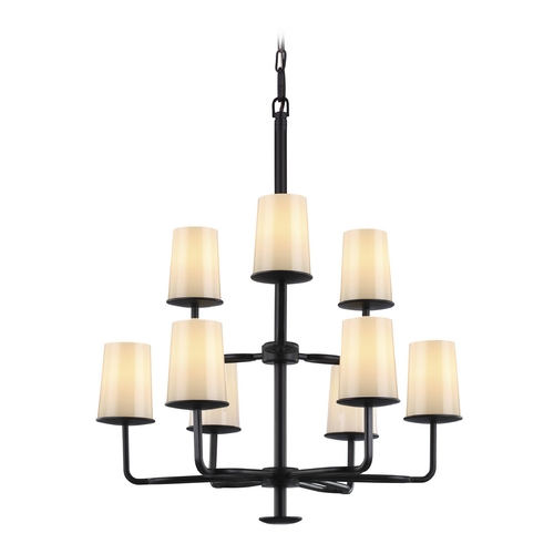 Feiss Lighting Feiss Lighting Huntley Oil Rubbed Bronze Chandelier F2925/3+6ORB