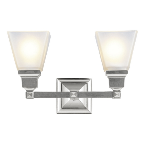 Livex Lighting Livex Lighting Mission Brushed Nickel Bathroom Light 1032-91
